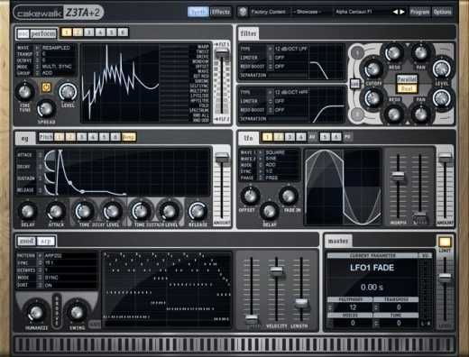 Cakewalk Z3TA Plus 2 v2.2.3.51 WiN MAC R2R | Images From Magesy® R Evolution™