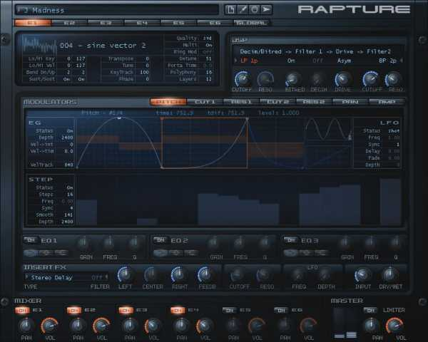 Cakewalk Rapture v1.2.2.10 and Contents WiN R2R | Images From Magesy® R Evolution™
