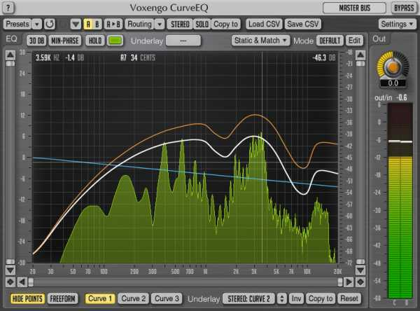 CurveEQ v3.8 AU AAX VST VST3 x86 x64 WiN MAC R2R | Images From Magesy® R Evolution™