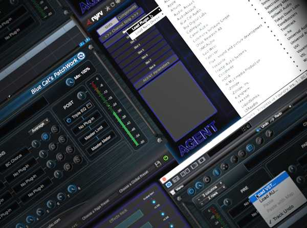 Using Audio Units in a VST Environment TUTORiAL SYNTHiC4TE | Images From Magesy® R Evolution™