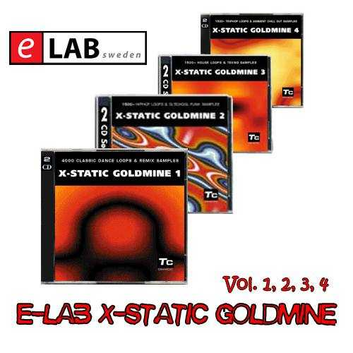 E LAB X static Goldmine Vol. 1, 2, 3, 4 AKAi WAV P2P | Images From Magesy® R Evolution™