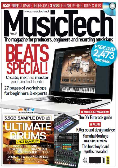 MusicTech   April 2016 | Images From Magesy® R Evolution™