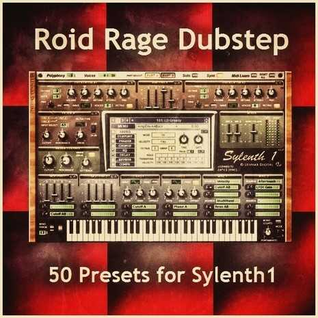 Roid Rage Dubstep for Sylenth1 FXB   Images From Magesy® R Evolution™
