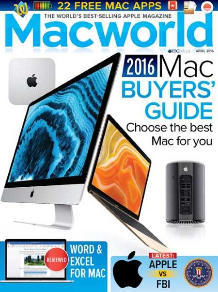 Macworld UK   April 2016 P2P | Images From Magesy® R Evolution™