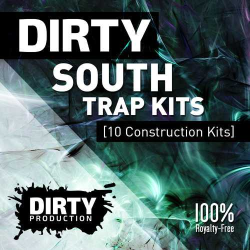 Dirty South Trap Kits WAV MiDi DiSCOVER | Images From Magesy® R Evolution™