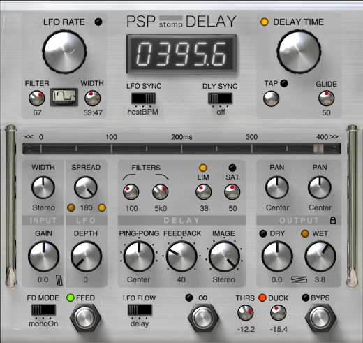 StompDelay v.1.0.0 AU VST RTAS AAX WiN MAC R2R NeBULA | Images From Magesy® R Evolution™