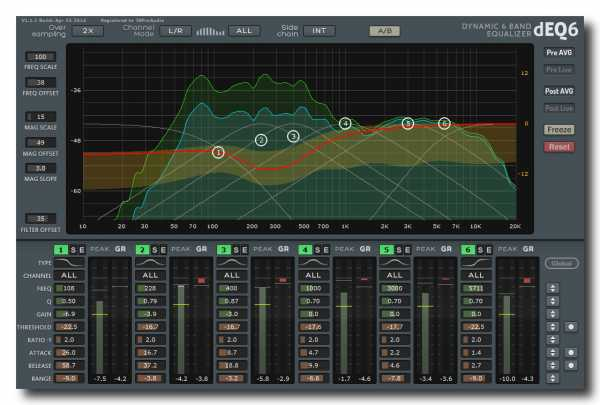 dEQ6 v2.1.6 AAX AU RTAS VST3 VST x86 x64 WiN MAC R2R | Images From Magesy® R Evolution™