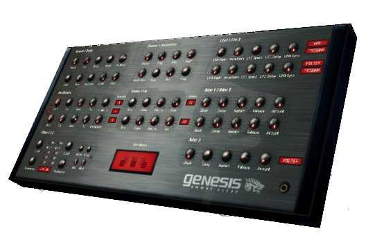 Genesis CM Synthesizer v1.0.2 VSTi WiN | Images From Magesy® R Evolution™