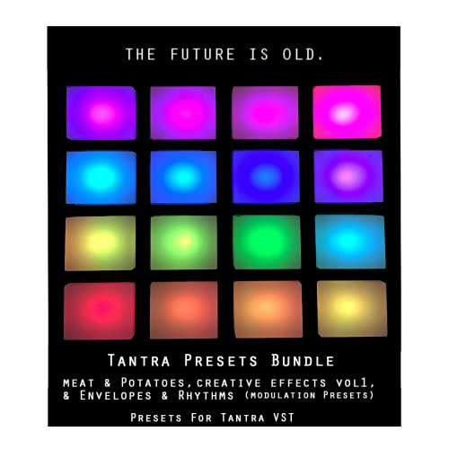 Tantra Presets Bundle for Tantra MPRG PRG | Images From Magesy® R Evolution™