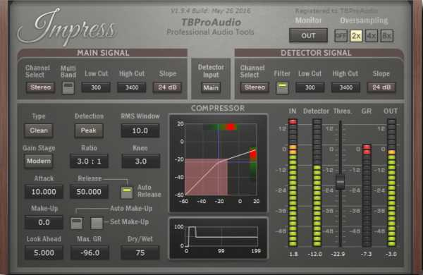 Impress v1.9.17 AAX AU VST VST3 RTAS x86 x64 WiN MAC R2R | Images From Magesy® R Evolution™