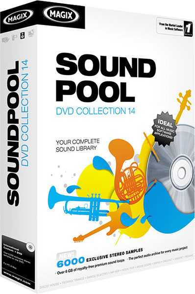 Soundpool DVD Collection 14 DVD9 iSO WAV | Images From Magesy® R Evolution™