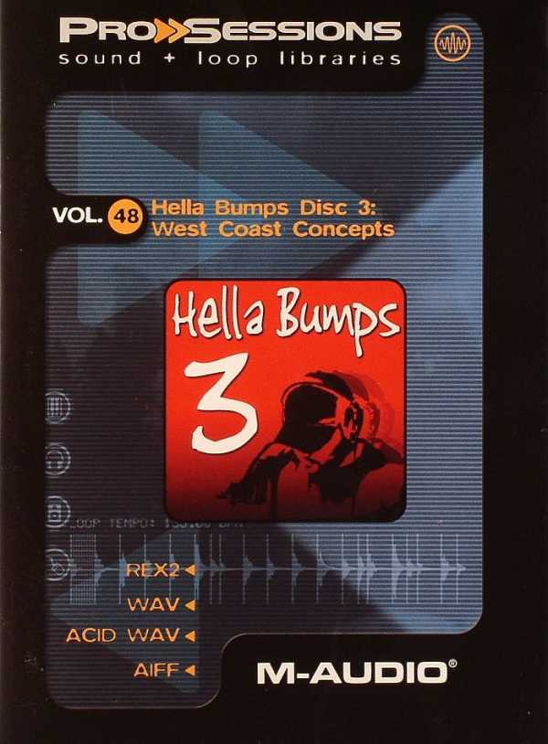 Pro Sessions Vol.48 Hella Bumps 3 AiFF REX2 WAV DYNAMiCS | Images From Magesy® R Evolution™