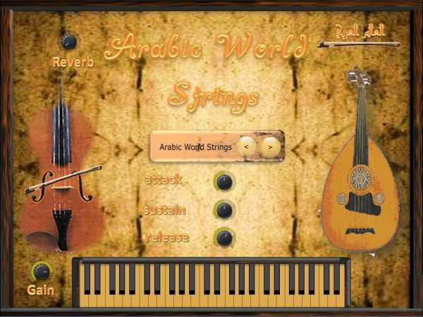 Arabic World Plugins String VSTi x86 WiN | Images From Magesy® R Evolution™