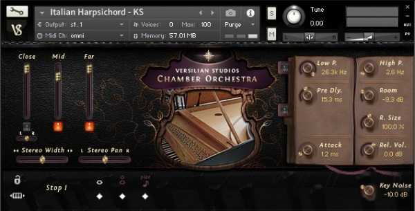 Versilian Studios Chamber Orchestra 2 Community Edition WAV Free | Images From Magesy® R Evolution™