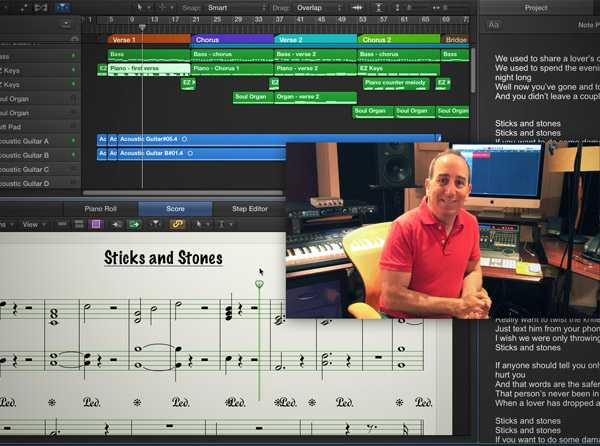Singer Songwriter Production and Arranging TUTORiAL SYNTHiC4TE   Images From Magesy® R Evolution™