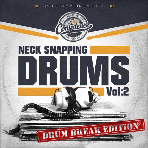 Neck Snapping Drums Vol.2 WAV DRUMKiDS | Images From Magesy® R Evolution™