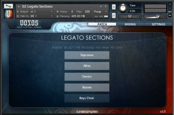 Epic Choirs KONTAKT FANTASTiC | Images From Magesy® R Evolution™