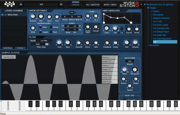 Wusik Station 8 v8.0.2 and Legacy Presets WiN MAC ZODiACK | Images From Magesy® R Evolution™