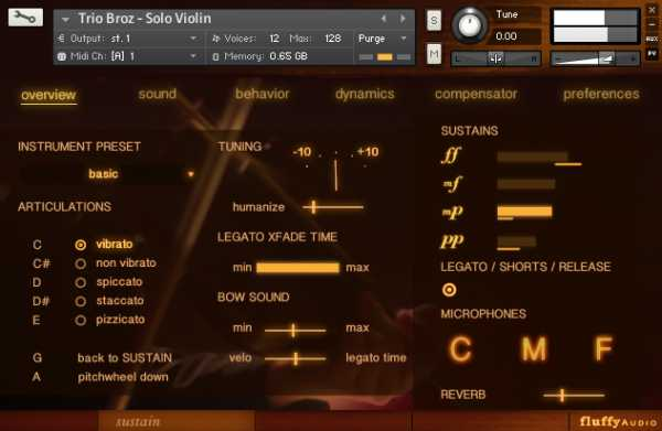 Trio Broz Solo Violin v2.0 KONTAKT READ NFO SYNTHiC4TE | Images From Magesy® R Evolution™