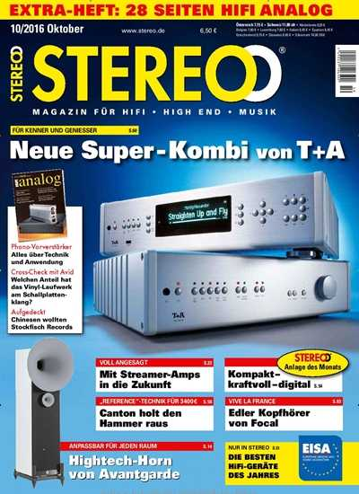 Stereo Magazin fur HiFi   No 10 Oktober 2016 | Images From Magesy® R Evolution™