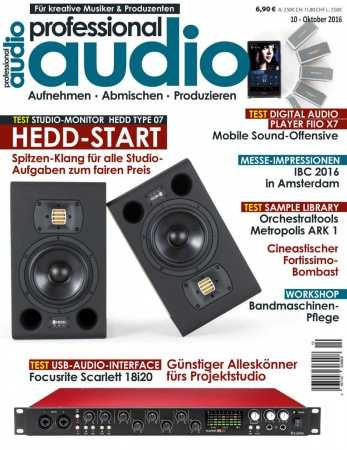 Professional Audio   Oktober 2016 | Images From Magesy® R Evolution™