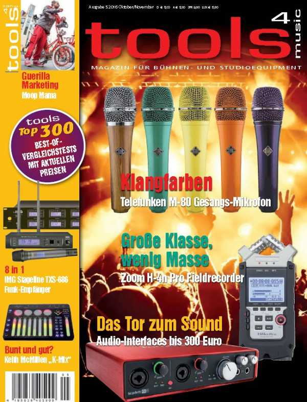 Tools 4 Music   Oktober November 2016   Images From Magesy® R Evolution™