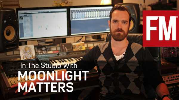 Future Music In The Studio With Moonlight Matters   Images From Magesy® R Evolution™