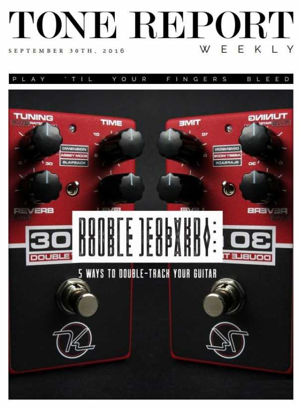 Tone Report Weekly   Issue 147 (September 30, 2016) | Images From Magesy® R Evolution™