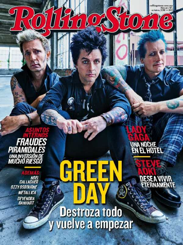 Rolling Stone Mexico   Octubre 2016 | Images From Magesy® R Evolution™