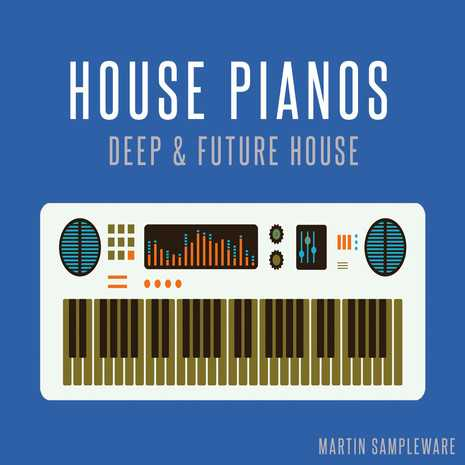 House Pianos Deep House And Future WAV MiDi DiSCOVER | Images From Magesy® R Evolution™