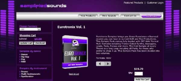 SamplifiedSounds Eurotronix Vol.2 WAV kHzViD | Images From Magesy® R Evolution™
