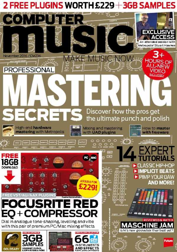 Computer Music   November 2016 COMPLETE CONTENT | Images From Magesy® R Evolution™
