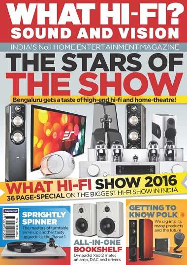 What Hi Fi India   October 2016 | Images From Magesy® R Evolution™