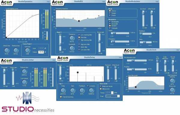 Studio Necessities v2.5.3 VST DXi WiN ACME   Images From Magesy® R Evolution™