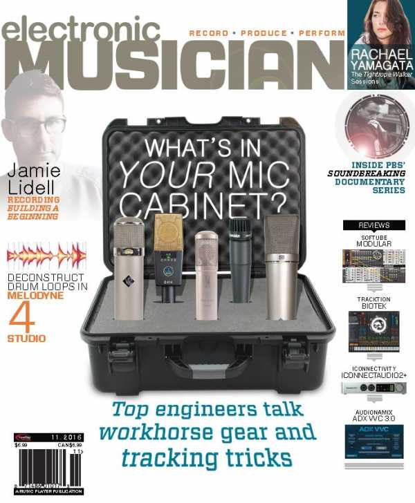 Electronic Musician   November 2016   Images From Magesy® R Evolution™