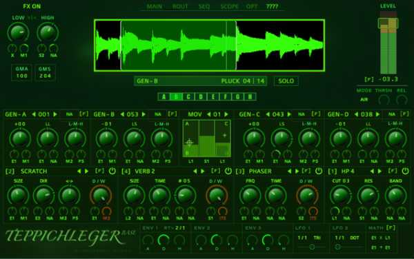 AM TEppichleger 103 for REAKTOR | Images From Magesy® R Evolution™