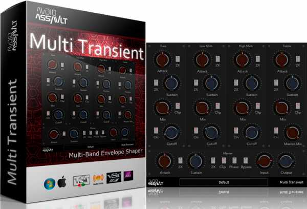 Multi Transient v1.7 WiN MAC RETAiL SYNTHiC4TE | Images From Magesy® R Evolution™