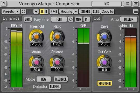 Marquis Compressor v2.4 AU AAX VST VST3 WiN MAC R2R | Images From Magesy® R Evolution™