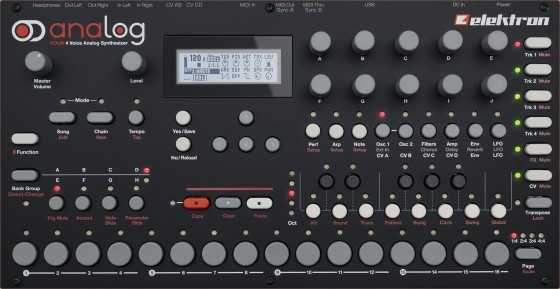 OVRDrive A4 Sound Presets For ELECKTRON | Images From Magesy® R Evolution™