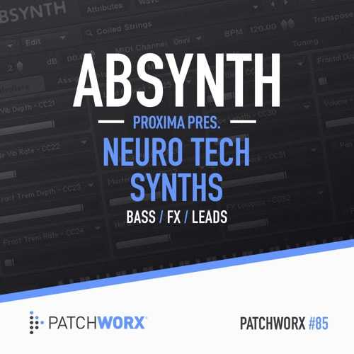 Neuro Tech Presets for ABSYNTH 5 | Images From Magesy® R Evolution™