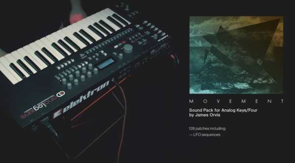Elektron Movement Sound Pack for Analog Keys Four SYX | Images From Magesy® R Evolution™