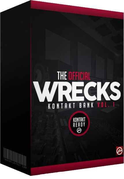 The Official Wrecks Drumkit Vol.1 WAV DiRECT WAVE DiSCOVER | Images From Magesy® R Evolution™