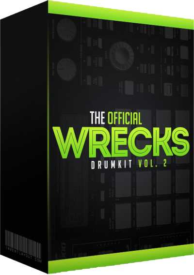The Official Wrecks Drumkit Vol.2 WAV DiSCOVER | Images From Magesy® R Evolution™
