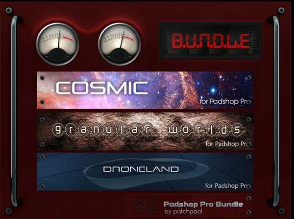 Bundle Patches For PadShop Pro | Images From Magesy® R Evolution™