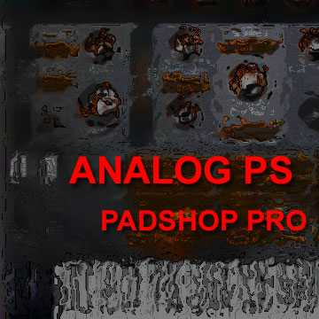 Analog PS Presets For PadShop Pro | Images From Magesy® R Evolution™
