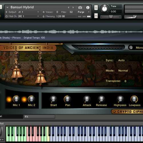 Voices Of Ancient India KONTAKT SYNTHiC4TE | Images From Magesy® R Evolution™
