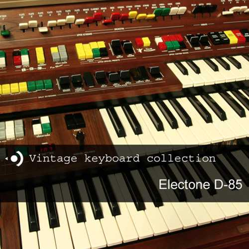 Vintage Keyboard Collection Electone D 85 MULTiFORMAT | Images From Magesy® R Evolution™