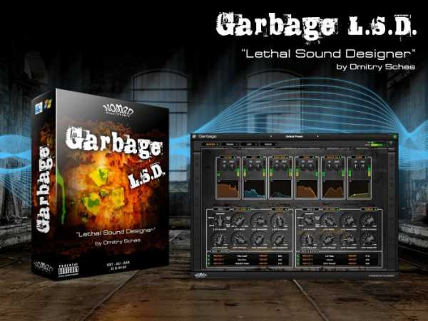 Garbage v1.0.1 AU VST AAX WiN MAC R2R   Images From Magesy® R Evolution™