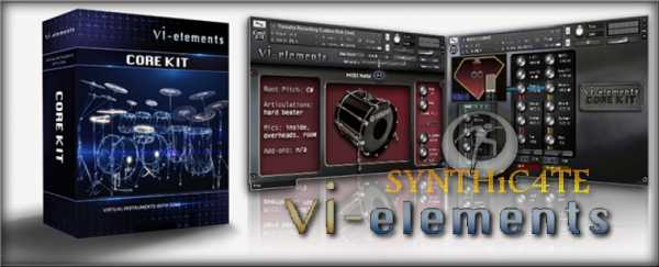 VI elements Core Kit KONTAKT SYNTHiC4TE | Images From Magesy® R Evolution™