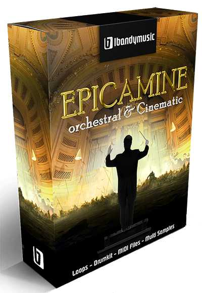 Epicamine Orchestral and Cinematic WAV MiDi AiFF | Images From Magesy® R Evolution™
